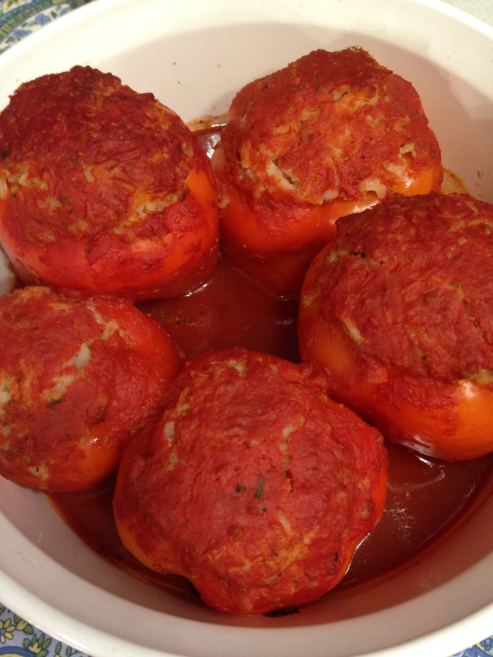 Flashback to My Youth: Stuffed Bell Peppers