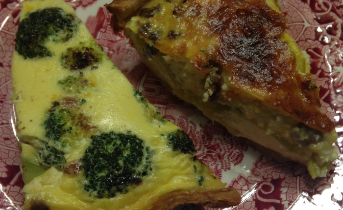 Pie Crust and Two Kinds of Quiche