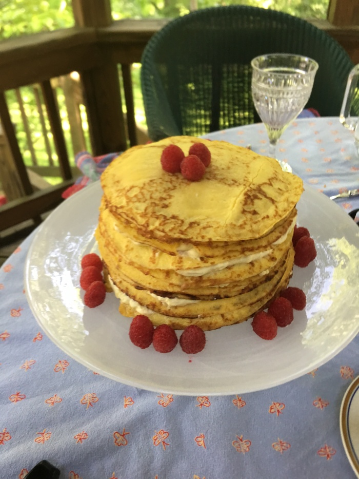 A Crepe Cake for Mother's Day