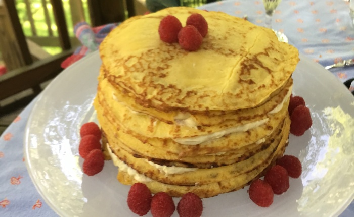 A Crepe Cake for Mother'sDay
